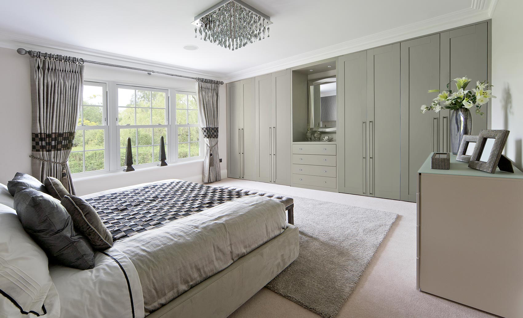 Wardrobes for the bedroom by Draks