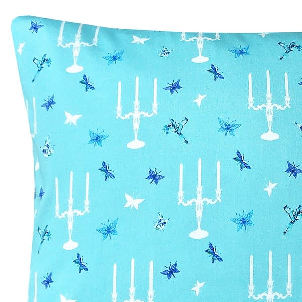 Fantasy Candelabra Duo Print Cushion