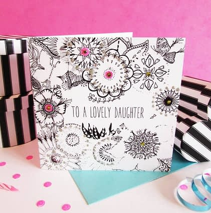 Fays Studio Daughter Card