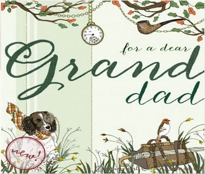 Clear Creation Grandad Card