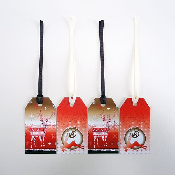 Reindeer Display - Christmas Gift Tags