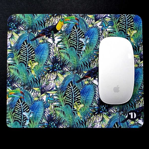 Mouse Mat - Tropical Forest and Toucan