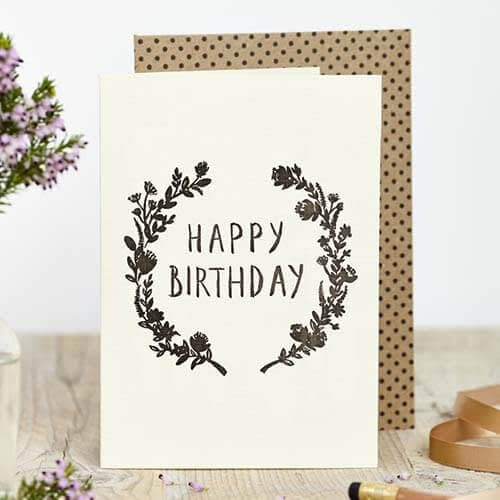 Special Sister birthday card for an Adult ~ choice of design