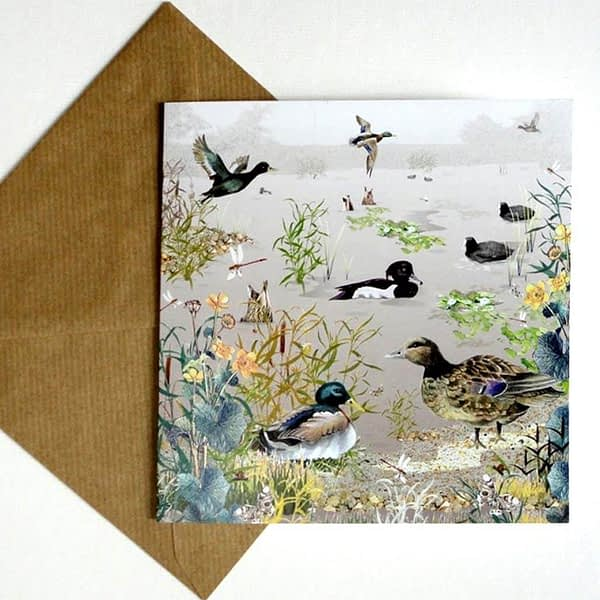Dabbling Ducks Card