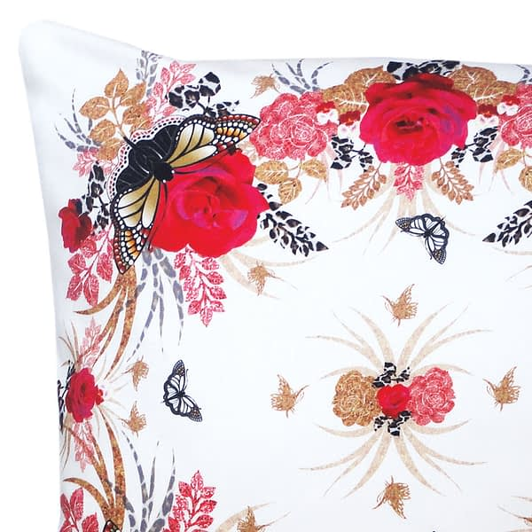 Red Rose Display Cushion