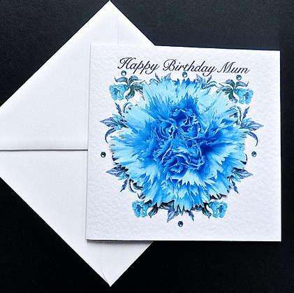 Decorque Flower Card for Mum