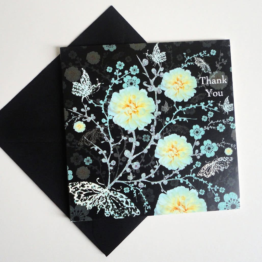Butterfly Eclipse - Thank You Card