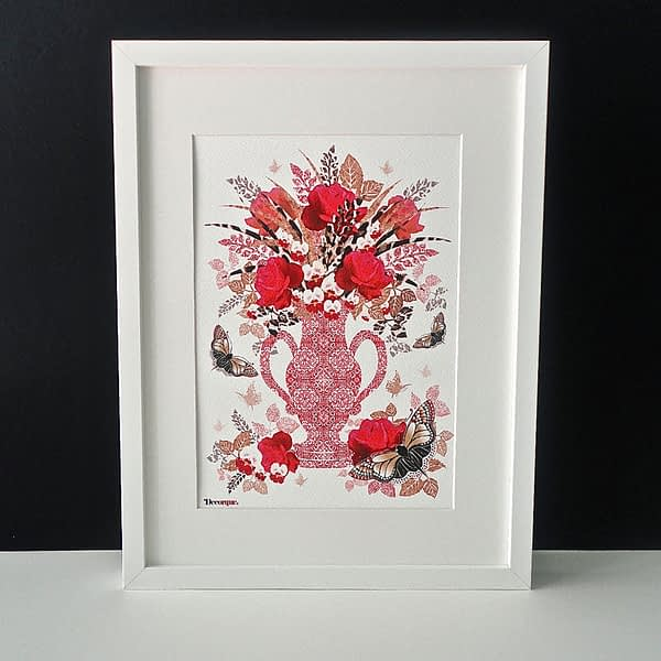 Decorque Display A4 Framed Art Print