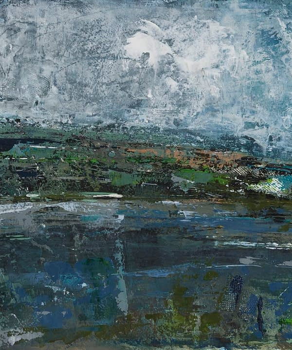 Irish landscape art print by Emma Tweedie and available through Telescope Style.