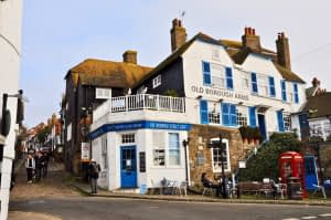 Historic Rye in East Sussex.
