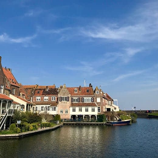 The harbour town of Enkhuizen, Telescope Style blog Holland in Springtime.