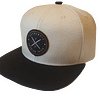 Cream Snapback hat Enjoy Dokha USA