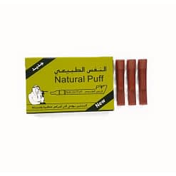 Matte Brown Natural Puff filters in america - Dokha Accessories - Enjoy Dokha USA