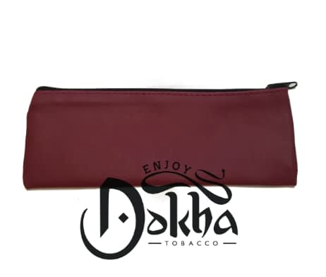 Enjoy Dokha Leather Plum Pouch 1