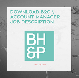 B2C Account manager