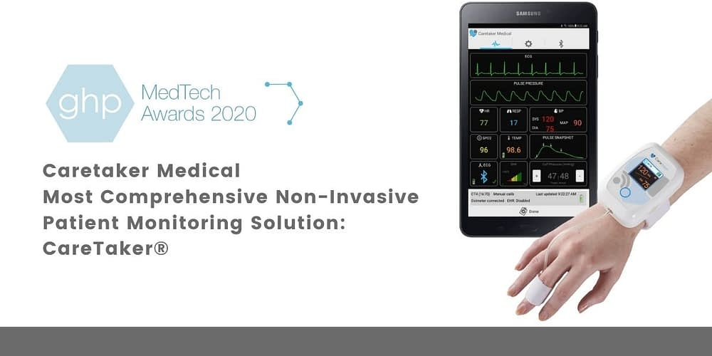 Most Comprehensive Non-Invasive Patient Monitoring Solution: CareTaker®