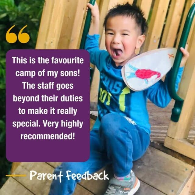 Feedback Friday 📣  It's that time again! …don't forget, if you have some feedback you'd like to share with us, we'd love to hear it!😆  #feedbackfriday #holidaycamp #testimonial #happyparents