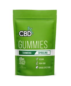 Enjoy CBD Products - CBD Gummies with Turmeric & Spirulina by CBDFX