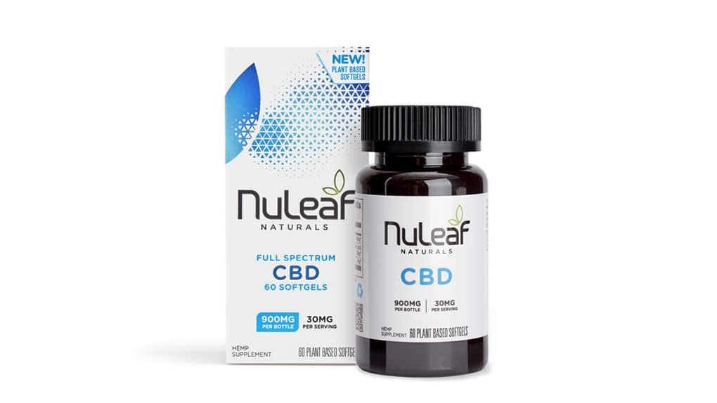 NuLeaf Naturals CBD oil Capsules in the UK - Enjoy CBD