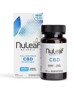 Nuleaf Naturals CBD SoftGels-900mg-600x600 Enjoy CBD - Packaging