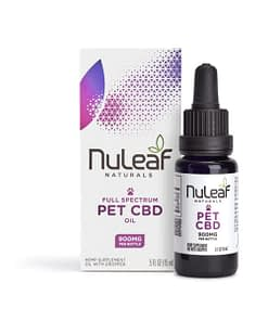 Nuleaf Naturals CBD oil for pets - 900mg - CBD oil online in the UK - Enjoy CBD