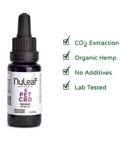 Nuleaf Naturals CBD oil for pets - 900mg - CBD oil online in the UK - Enjoy CBD benefits