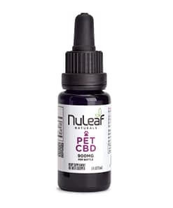 Nuleaf Naturals CBD oil for pets - 900mg - CBD oil online in the UK - Enjoy CBD bottle
