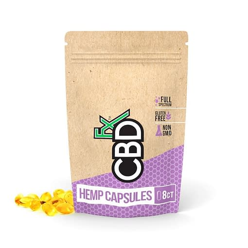 Enjoy CBD Products - CBD soft gels 200mg by CBDFX