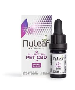 Nuleaf Naturals CBD oil for pets - 300mg - CBD oil online in the UK - Enjoy CBD