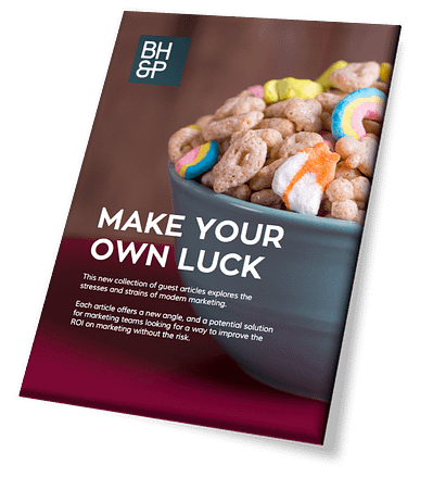 Make your own luck image